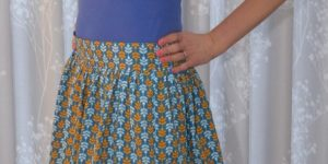 A Girly Clémence skirt