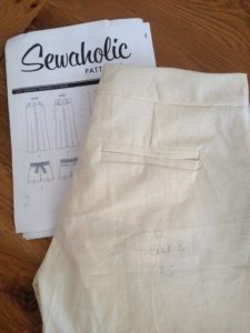 toile thurlow shorts