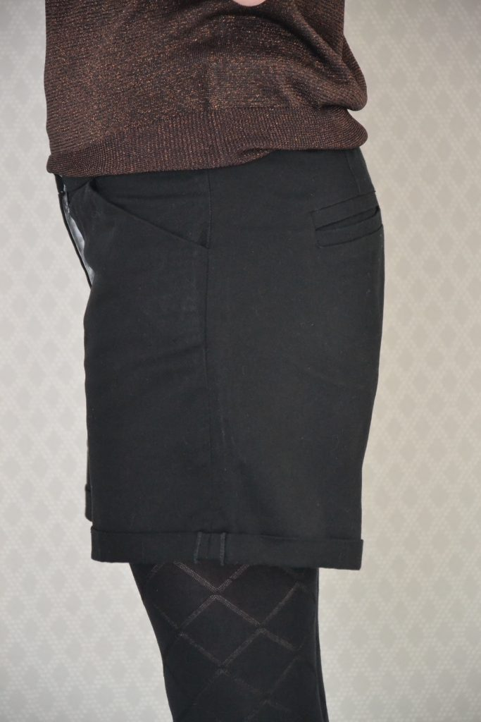 side view thurlow shorts