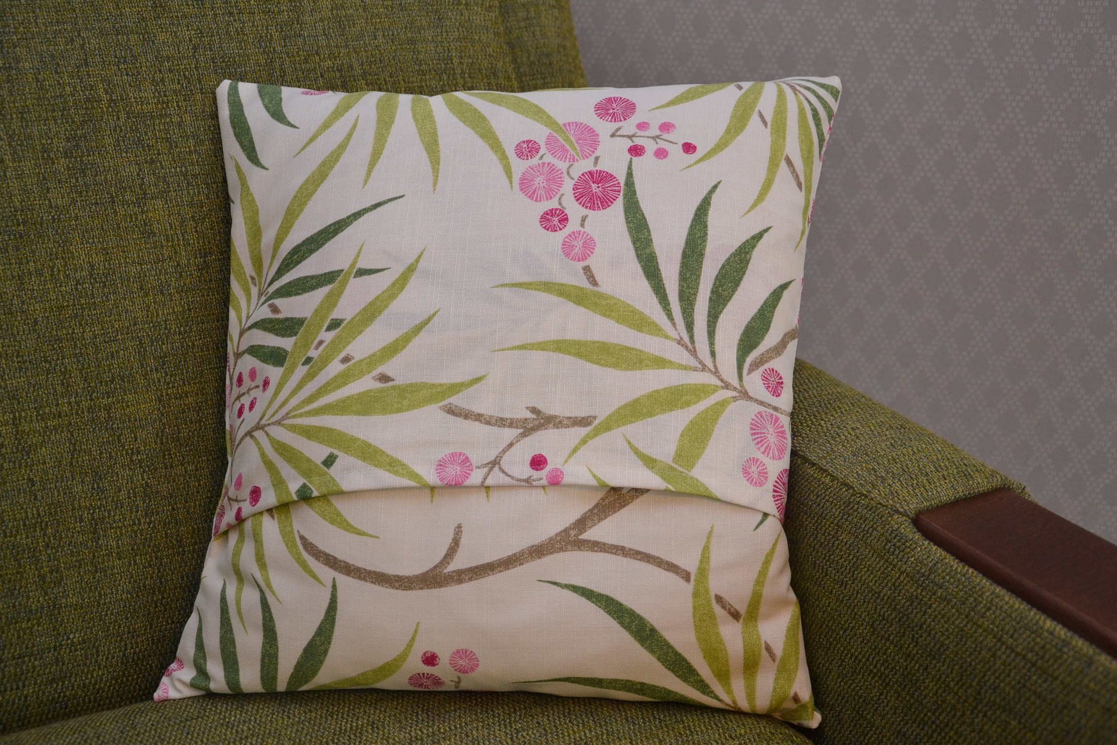 Online sewing class -Beginners sewing class - Learn to sew a Cushion Cover
