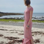 Simple Sew Shannon nautical jersey dress hack