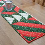 Online sewing class - Learn to sew a quilted Christmas table runner